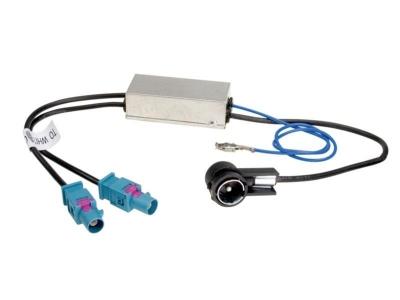 Adapter antenowy 2x Fakra ISO (Z) z zasilaniem phantom