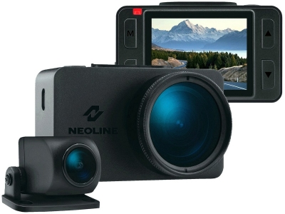 Neoline G-Tech X76 - rejestrator z 2 kamerami Full HD