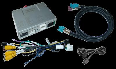 Adapter do kamery cofania Fiat Tipo 2016 -> Uconnect 7 cali