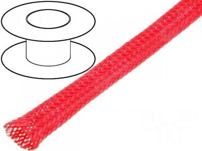 Oplot poliestrowy 12mm (11-17mm) czerwony