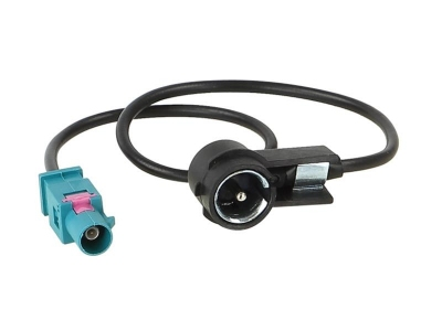 Adapter antenowy Fakra - ISO VW,Audi,Seat,Skoda 2002->