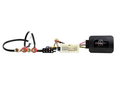 Adapter do sterowania z kierownicy Hyundai Santa Fe 2006-> z fabrycznym wzmacniaczem CTSHY003.2