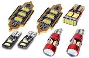 Samochodowe żarówki LED