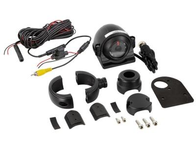 Kamera boczna uniwersalna (okrągła). Różne opcje instalacji, funkcja noktowizora