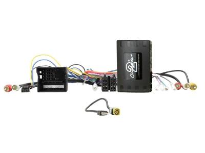 Adapter zdalnego sterowania z kierownicy Porsche Panamera, Macan, Cayenne bez wzmacniacza ze złączami Quadlock