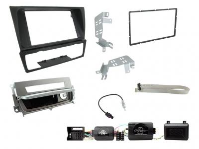 Zestaw montażowy 2 DIN BMW 3 E90/E91/E92/E93 2005 - 2012