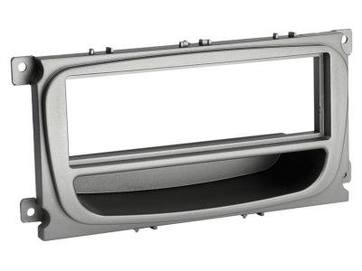 Ramka radiowa Ford Focus,Mondeo,S-Max 2007-> srebna półka