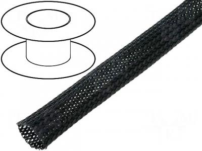 Oplot poliestrowy 5mm (4-9mm) czarny