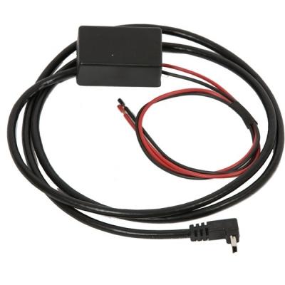 Zasilacz samochodowy, USB mini wtyk 5V/1x2,1A, 0,9m