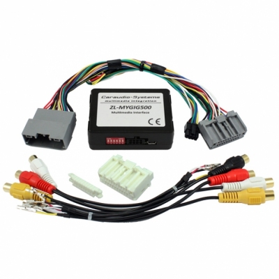 Interfejs do podłączenia Audio Video MyGig Chrysler, Dodge i Jeep automatyczne przełączanie wszystkie CAN