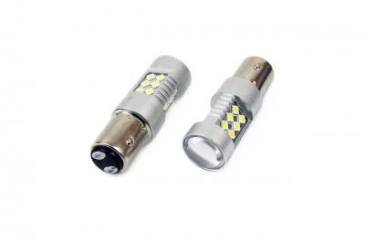Żarówka LED CANBUS 24SMD 3030 1157 (P21/5W) White 12V/24V