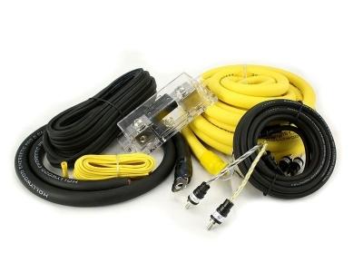 Zestaw kabli do wzmacniacza samochodowego Hollywood PRO-20