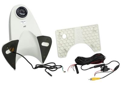 Uniwersalna kamera cofania z linami pomocniczymi dla samochodów dostawczych biała
