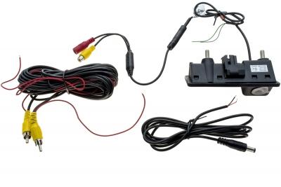 KAMERA COFANIA w klamce bagażnika AUDI-VW-SKODA-PORSCHE CMOS NTSC CA9701