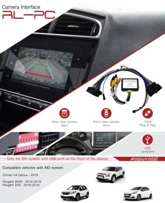 Interfejs kamery przód / tył Peugeot / Citroen AIO system