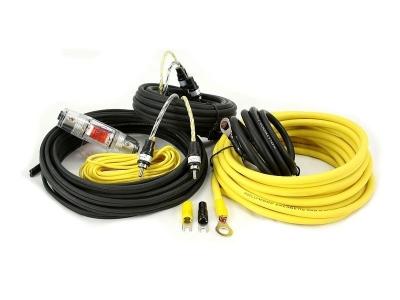 Zestaw kabli do wzmacniacza samochodowego Hollywood PRO-28 - seria PRO OFC