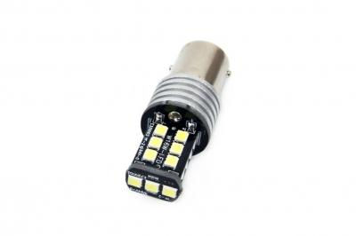 Żarówka LED CANBUS 15SMD 2835 7,5W 1157 (P21/5W) White 12V/24V