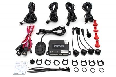 Czujniki parkowania EMG-PS41-F - 4 sensorowy zestaw na przedni zderzak