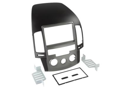 Ramka radiowa 2 DIN Hyundai i30 2008> Manualna klimatyzacja .