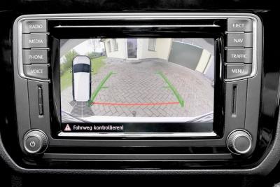 Kompletny zestaw kamery cofania dla VW Caddy SA