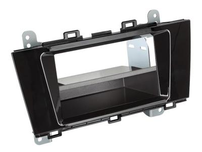 Ramka radiowa 1 DIN  Subaru Outback 2015 -> czarna połysk