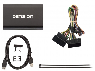 Cyfrowa zmieniarka Dension USB,iPod,iPhone,AUX,ID3 - VW RCD300,RCD500