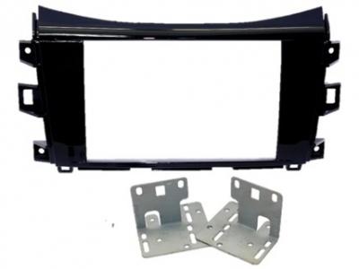 Zestaw montażowy 2DIN Nissan Navara fabryczna kamera dla Alpine X800D-U/X801D-U