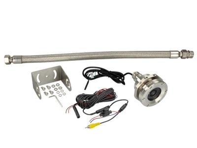 Kamera przeciwwybuchowa, solidna obudowa ze stali nierdzewnej z funkcją noktowizora.