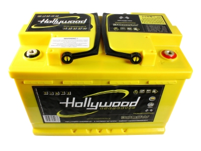 Akumulator Hollywood DIN-70 12V, 3000W, 70Ah