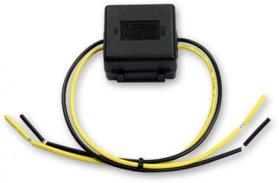Filtr szumów dla instalacji samochodowej 12 V (10A, 15A mx.)