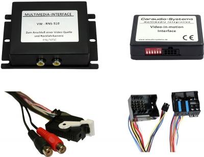 Interfejs Wideo, DVD, DVB-T z TV-FREE  VW, Skoda, Seat - RNS510 / Columbus / Trinax