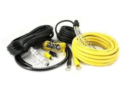 Zestaw kabli do wzmacniacza samochodowego Hollywood CCA-44