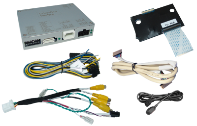 Adapter do kamery cofania Jeep Compass, Renegade, Wrangler 2018 -> Uconnect 8,4.