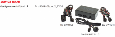 SWITCH JSW-02 MDI/AMI-DAB/DAB+/BLUETOOTH