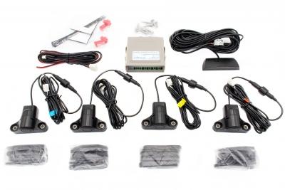 Czujniki parkowania 230 C4 sensory, wyświetlacz