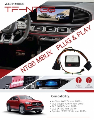 Interfejs TV FREE Mercedes Sprinter GLE W167/W907/W910 MBUX