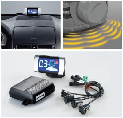 Czujniki parkowania EMG tył + wyświetlacz.