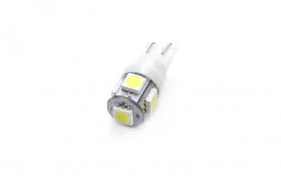 Żarówka LED STANDARD T10 W5W 5xSMD 5050 12V