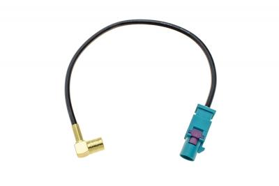 Adapter antenowy wtyk FAKRA - gniazdo SMB