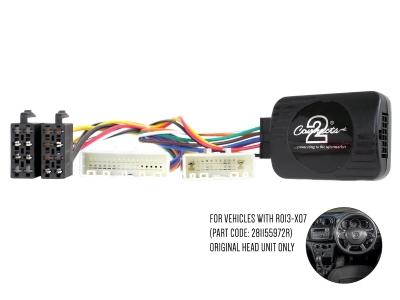 Adapter do sterowania z kierownicy Dacia Duster, Logan, Sandero 2017-> CTSDC003