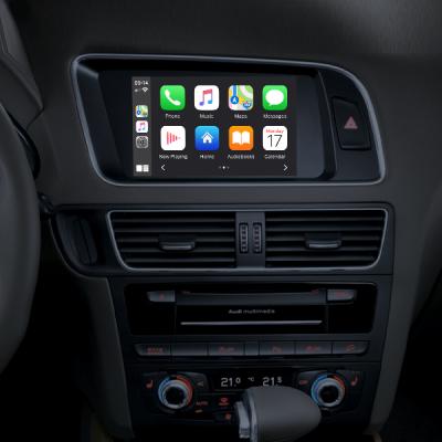 Bezprzewodowy interfejs CarPlay, Android Auto, Mirroring dla Audi MMI 3G A4, A5 / S5, Q5, A6, Q7