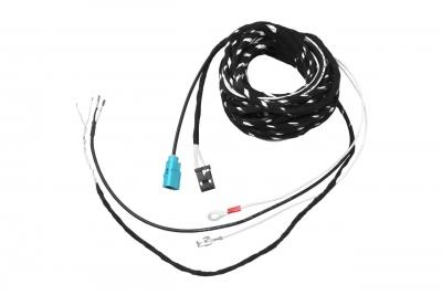 Zestaw kabli kamery tylnej dla Audi A6, A7 4G