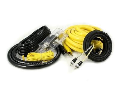 Zestaw kabli do wzmacniacza samochodowego Hollywood CCA-20