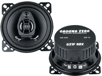 Głośniki samochodowe GROUND ZERO GZIF40X2