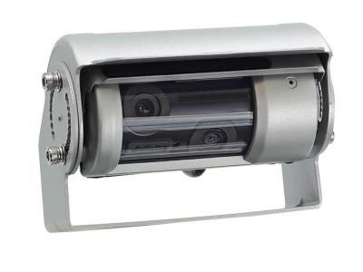 Uniwersalna kamera cofania z linami pomocniczymi, 2 obiektywy, podgrzeanie do samochodów ciężarowych
