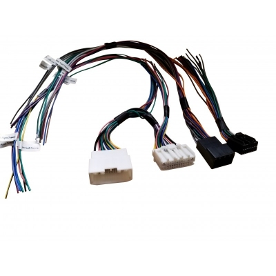 Wiązka połączeniowa dla Chrysler, Dodge, Jeep i RAM z fabrycznym wzmacniaczem. APH-CH01