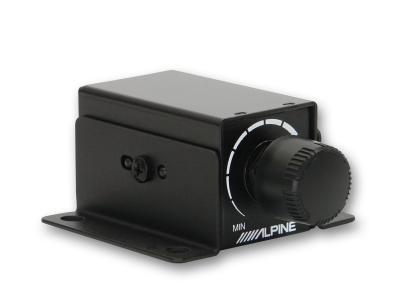 Pokrętło zdalnego regulatora wzmocnienia subwoofera Alpine RUX-KNOB2