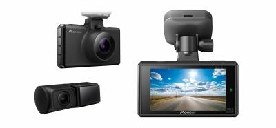 Pioneer VREC-DH300D Rejestrator jazdy z przednią i tylną kamerą