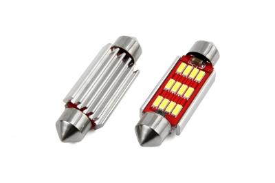 Żarówka LED VERTEX CANBUS 12SMD 4014 Festoon 41mm White 12V/24V