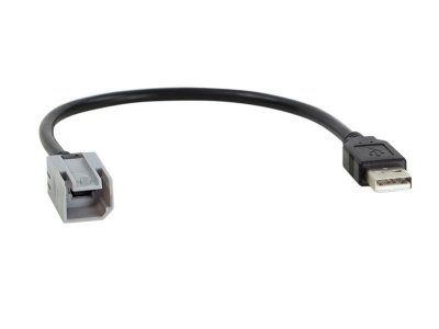 Adapter USB zachowuje fabryczny port USB Fiat Ducato, 500L, Iveco Daily, Peugeot Boxer, Citroen Jumper